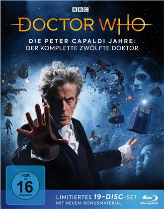 Doctor Who - Die Peter Capaldi Jahre - Der komplette 12. Doktor (BBC, Limited Edition, 19 Blu-rays)