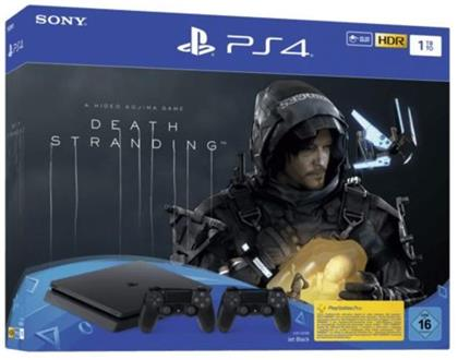 Sony Playstation 4 1TB SLIM + Death Stranding+ 2. Controller