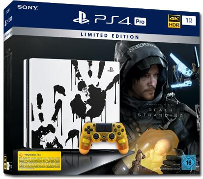 Sony Playstation 4 1TB PRO + Death Stranding (Limited Edition)
