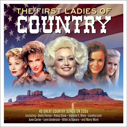 First Ladies Of Country (2019 Reissue, Not Now Edition, 2 CDs)