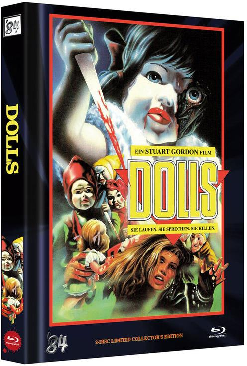 Dolls (1987) (Cover C, Limited Collector's Edition, Mediabook, Uncut, Blu-ray + DVD)