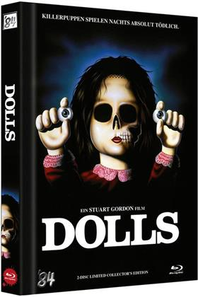 Dolls (1987) (Cover A, Collector's Edition Limitata, Mediabook, Uncut, Blu-ray + DVD)
