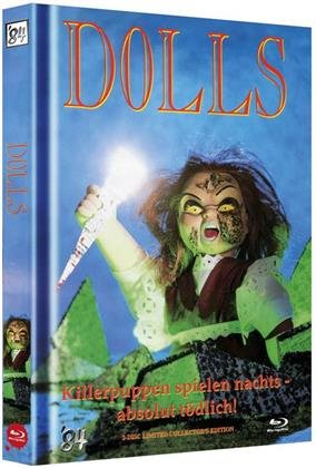Dolls (1987) (Cover B, Limited Collector's Edition, Mediabook, Uncut, Blu-ray + DVD)