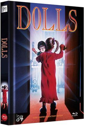 Dolls (1987) (Cover D, Limited Collector's Edition, Mediabook, Uncut, Blu-ray + DVD)