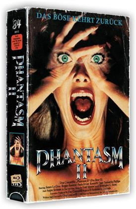 Phantasm 2 (1988) (VHS Box, + Poster, Uncut, Blu-ray + 2 DVDs)