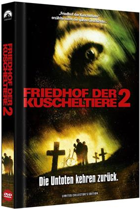Friedhof der Kuscheltiere 2 (1992) (HD-Remastered, Cover A, Collector's Edition Limitata, Mediabook, Uncut)