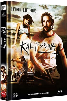 Kalifornia (1993) (Cover B, Collector's Edition Limitata, Mediabook, Uncut, Blu-ray + DVD)