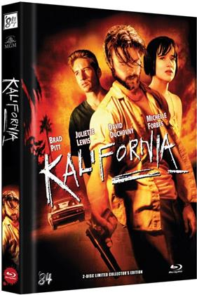 Kalifornia (1993) (Cover D, Collector's Edition Limitata, Mediabook, Uncut, Blu-ray + DVD)