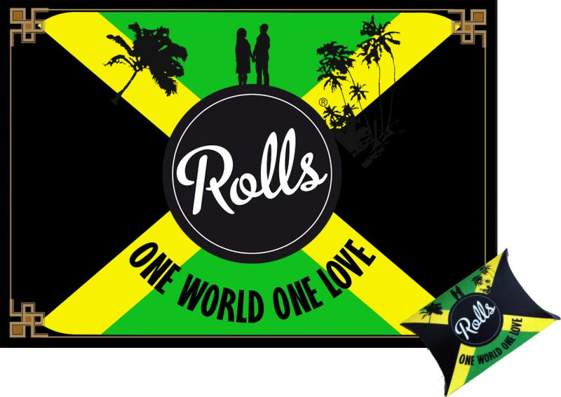 Rolls Jamaica Vip Turbo Pack Filter - 1 Pack (10 Filter Inside) One World One Love