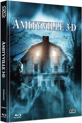 Amityville 3-D (1983) (Cover A, Limited Collector's Edition, Mediabook, Blu-ray + DVD)