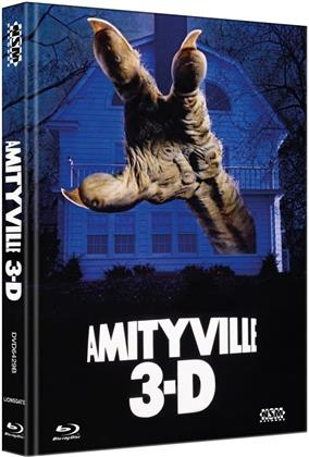 Amityville 3-D (1983) (Cover B, Limited Collector's Edition, Mediabook, Blu-ray + DVD)