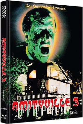 Amityville 3 (1983) (Cover C, Limited Collector's Edition, Mediabook, Blu-ray + DVD)