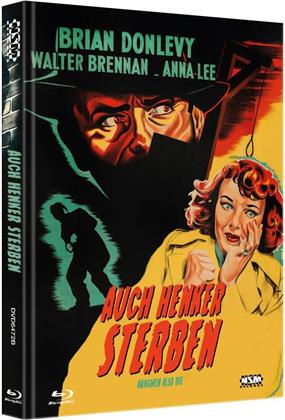 Auch Henker sterben (1943) (Cover B, Limited Collector's Edition, Mediabook, Blu-ray + DVD)