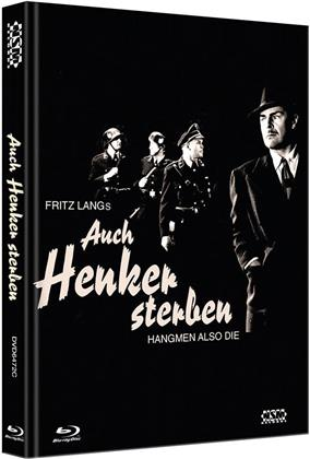 Auch Henker sterben (1943) (Cover C, Limited Collector's Edition, Mediabook, Blu-ray + DVD)