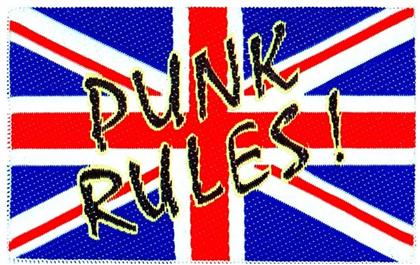 Generic Patches - Union Jack \Punk Rules (Patch)