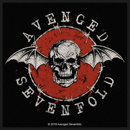 Avenged Sevenfold - Distressed Skull (Patch)