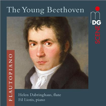 Duo FlautoPiano & Ludwig van Beethoven (1770-1827) - The Young Beethoven - Music For Flute And Piano (Hybrid SACD)