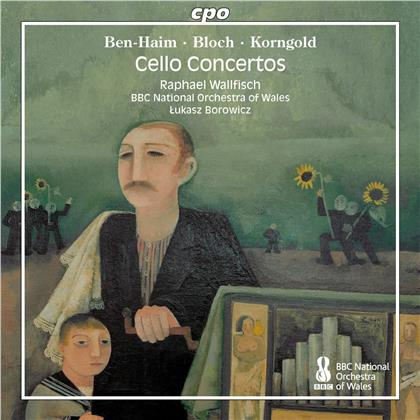 Paul Ben-Haim (1897-1984), Ernest Bloch (1880-1959), Erich Wolfgang Korngold (1897-1957), Lukasz Borowicz, Raphael Wallfisch, … - Voices In The Wilderness - Cello Concertos By Exiled Jewish Composers
