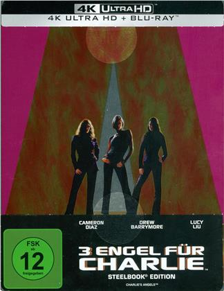 3 Engel für Charlie (2000) (Limited Edition, Steelbook, 4K Ultra HD + Blu-ray)