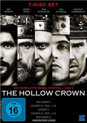 The Hollow Crown - Die komplette Serie - Staffel 1 und 2 (7 DVDs)
