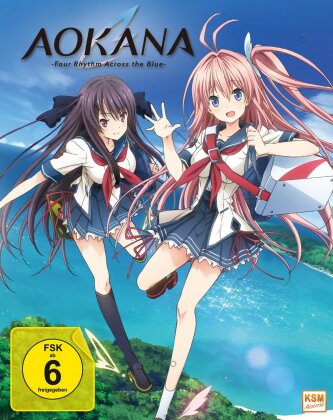 Aokana - Four Rhythm Across the Blue - Gesamtedition - Episode 1-12 (2 Blu-rays)