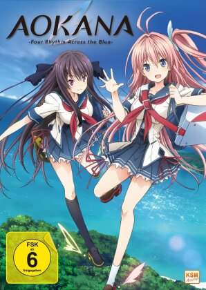 Aokana - Four Rhythm Across the Blue - - Gesamtedition - Episode 1-12 (2 DVDs)
