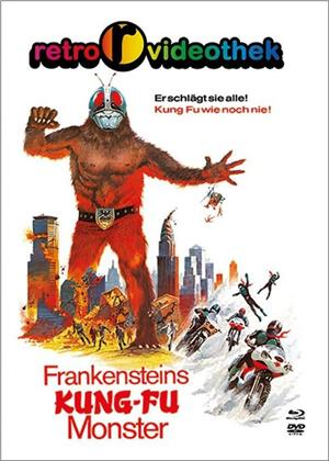 Frankensteins Kung-Fu Monster (1975) (Cover D, Limited Edition, Mediabook, Blu-ray + DVD)