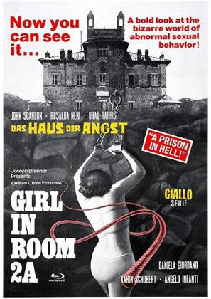 Girl in Room 2A - Das Haus der Angst (Eurocult Collection, Cover D, Giallo Serie, Limited Edition, Mediabook, Blu-ray + DVD)