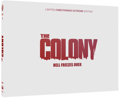 The Colony - Hell Freezes Over (2013) (Wattiert, Cover Q, Limited Edition, Mediabook, Blu-ray + DVD)