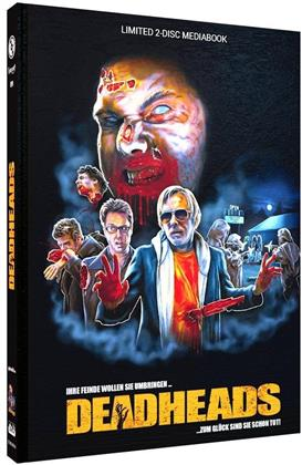 Deadheads (2011) (Cover A, Limited Edition, Mediabook, Uncut, Blu-ray + DVD)