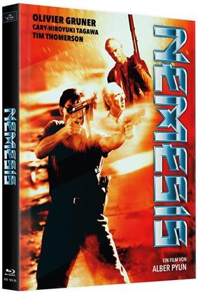 Nemesis (1992) (Cover B, Limited Edition, Mediabook, Remastered, Uncut, 4 Blu-rays)