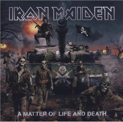 Iron Maiden - A Matter Of Life & Death (2019 Reissue, Digipack, + Figurine, Deluxe Edition)