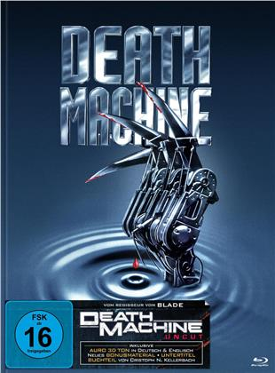 Death Machine (1994) (Cover B, Edizione Limitata, Mediabook, Uncut, Blu-ray + DVD)