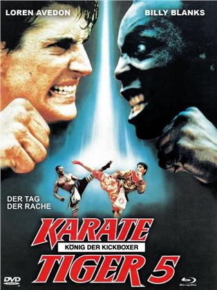Karate Tiger 5 - König der Kickboxer (1990) (Cover A, Limited Edition, Mediabook, Blu-ray + DVD)