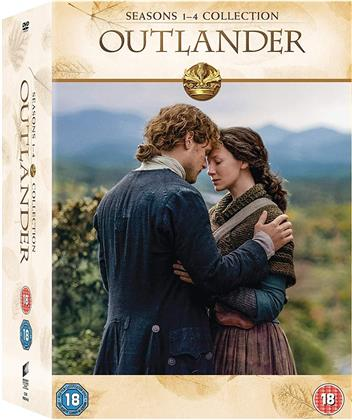 Outlander - Stagione 1-4 (Box, 21 DVDs)