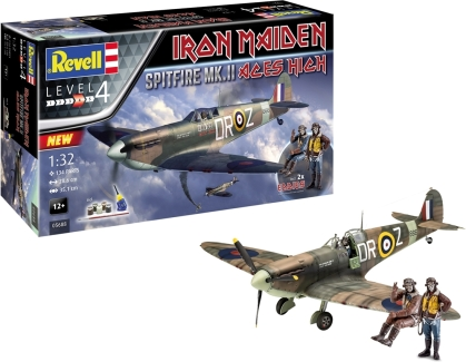 Iron Maiden - Spitfire Mkii Aces High 35th Anniversary
