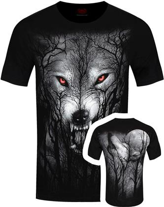 Spiral - Forest Wolf - Men's T-Shirt