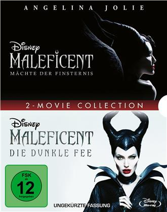 Maleficent - Die dunkle Fee / Maleficent 2 - Mächte der Finsternis - 2-Movie Collection (2 Blu-rays)