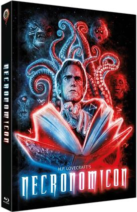 Necronomicon (1993) (Cover B, Limited Edition, Mediabook, Uncut, Blu-ray + 2 DVDs)