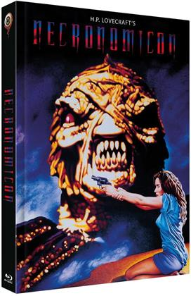 Necronomicon (1993) (Cover A, Limited Edition, Mediabook, Uncut, Blu-ray + 2 DVDs)