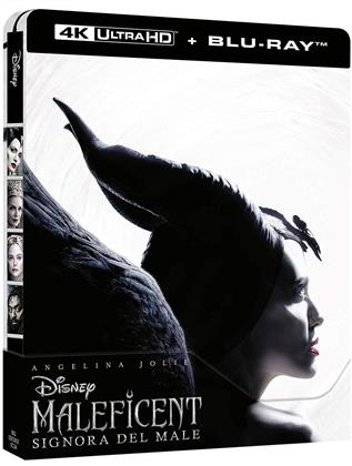 Maleficent 2 - Signora del Male (2019) (Limited Edition, Steelbook, 4K Ultra HD + Blu-ray)