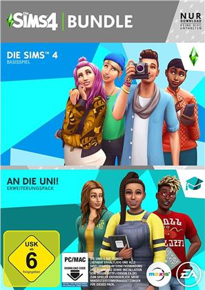 Die Sims 4 (Code in a Box) - An die Universität Bundle (German Edition)