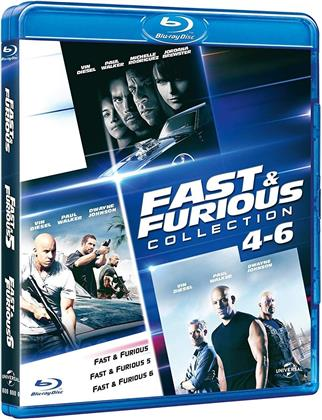 Fast & Furious 4-6 - (Family Collection) (3 Blu-ray)