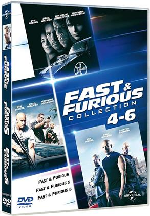 Fast & Furious 4-6 - (Family Collection) (3 DVD)