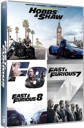 Fast & Furious: Hobbs & Shaw Collection (3 DVD)