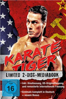 Karate Tiger (1986) (Limited Edition, Mediabook, 2 Blu-rays)