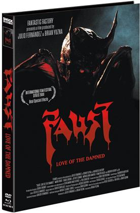 Faust - Love of the Damned (2000) (Cover B, Limited Edition, Mediabook, Blu-ray + DVD)