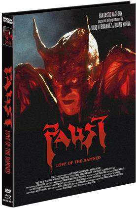 Faust - Love of the Damned (2000) (Cover C, Limited Edition, Mediabook, Blu-ray + DVD)