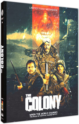 The Colony - Hell Freezes Over (2013) (Cover B, Edizione Limitata, Mediabook, Blu-ray + DVD)