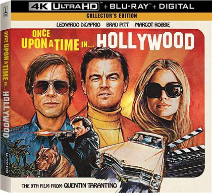 Once upon a time in... Hollywood (2019) (Collector's Edition, 4K Ultra HD + Blu-ray)